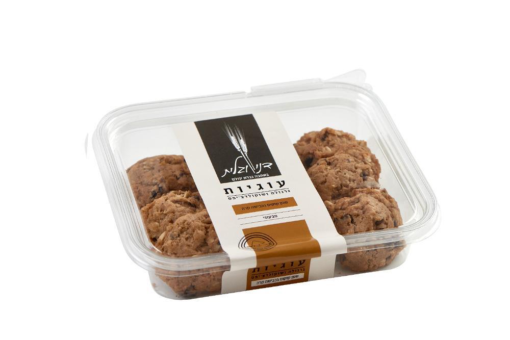 עוגיות גרנולה ושוקולדצ'יפס