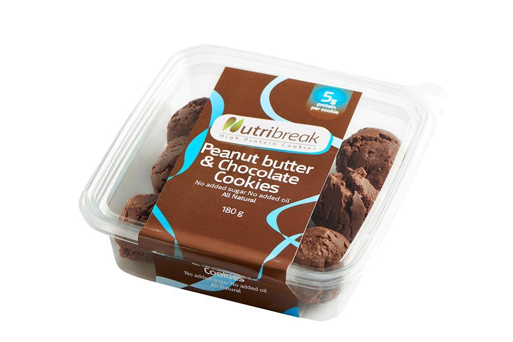 Nutribreak חמאת בוטנים ושוקולד